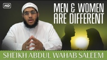Men & Women Are Different ᴴᴰ ┇ Amazing Reminder ┇ by Sheikh Abdul Wahab Saleem ┇ TDR Production ┇