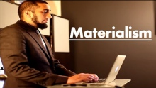 "(Materialism) ""I am never on Facebook"" - Ustadh Nouman Ali Khan"