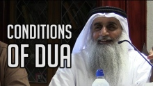Conditions of Dua & its Etiquettes - Shaykh Adnan Abdul Qadir