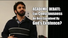 BIG DEBATE: Can Consciousness Be Best Explained By God's Existence? - Hamza Tzortzis & Peter Simons