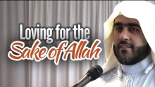 Loving for the Sake of Allah - Ahmad Saleem
