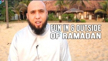 How to have Fun in Ramadan & Outside of Ramadan - Tariq Appleby