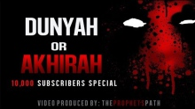 Dunyah Or Akhirah ᴴᴰ - Powerful Spoken Word - Maryam El-Ashiri