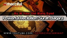 Powerful Recitation: Surah Baqara ᴴᴰ - By Wafiq Syed