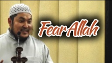 Fear Allah (Ittaqullah) - AbdulBary Yahya