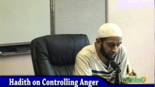 Islam 101 - Controlling Anger 1/2