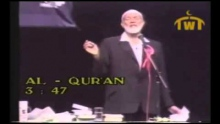 Ahmed Deedat Answer - What is the Muslim position on the virgin birth of Prophet Jesus?