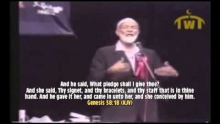 Ahmed Deedat - Judah the Father of the Jews and his sexual act on the roadside in a BOOK OF GOD?