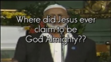Ahmed Deedat - The FAMOUS EPIC question which NO CHRISTIAN can answer until today!!