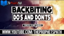 Backbiting - Do's and Don'ts ┇ Powerful Islamic Reminder ┇ Shaykh Zia Ul Haque