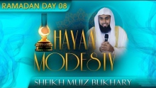 Hayaa - Modesty ᴴᴰ ┇ Ramadan 2014 - Day 08 ┇ by Sheikh Muiz Bukhary ┇ #TDRRamadan2014 ┇