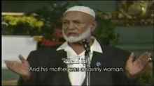 Ahmed Deedat Answer - Jesus 'The God' that requires to EAT food?! And some Christians are NOT happy!