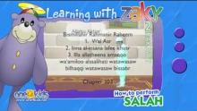 Muslim Prayer - How to perform 2 Raka'at (2 Units) of prayer | Learning with Zaky