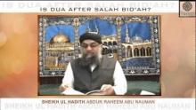 Is Dua after Salah Bid'ah?