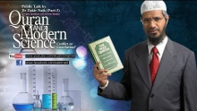 Qur'an and Modern Science - Conflict or Conciliation? by Dr Zakir Naik | Part 3 | Q&A