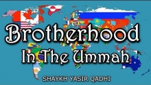 Brotherhood In the Ummah - Shaykh Yasir Qadhi