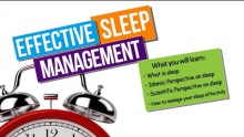 Effective Sleep Management - Ahmad Saleem