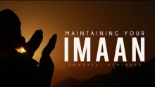 Maintaining Your Imaan