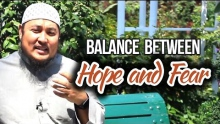 Balance Between Hope and Fear - AbdulBary Yahya