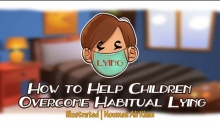 How to Help Children Overcome Habitual Lying | Nouman Ali Khan | illustrated