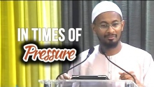 In Times of Pressure - Kamal El-Mekki