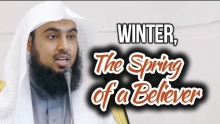 Winter, The Spring of a Believer - Sajid Umar