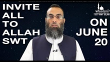 On June 20th, show your love for the Prophet (pubh)  | Sh. Yaser Birjas invites to Global Dawah Day