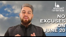 No Excuses on June 20 | AbdelRahman Murphy invites you to Global Dawah Day