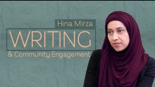 Writing as a Forum for Community Engagement | Hina Mirza