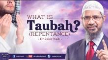 TAUBAH (REPENTANCE) | DR ZAKIR NAIK