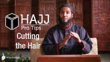 Cutting the Hair - #HajjProTips