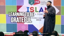 Learning to be Grateful - Navaid Aziz