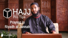 Praying in Riyadh al Jannah - #HajjProTips