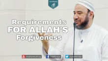 Requirements for Allah's Forgiveness - Essam Tawfik