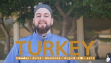 Study abroad in Turkey with Ustadh AbdelRahman Murphy