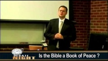Is the Bible a Book of Peace? ( David's Opening Statement - 1 of 4 )