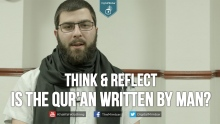 Is the Qur'an Written by MAN? - Think & Reflect - Abu Jebreel Spadaccini