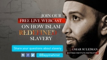 Slavery: A Past and Present Tragedy with Sheikh Omar Suleiman