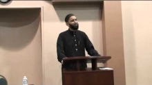 "ADAMS Center Youth Group: Imam Omar Suleiman- ""Youth: The Lifeline of a Community"" Part 1"