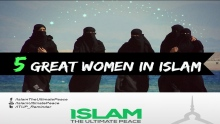 Five Great Women in Islam ~ Sheikh Sulaiman Moola