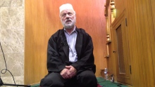 Imam Yusuf doing his daily Dhikr after Asr prayer.