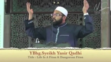 Khutbah: The Trials of this Ummah and the Help of Allah ~ Dr. Yasir Qadhi | 16th May 2014