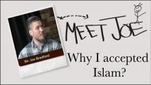 Meet Shaykh Joe who accepted ISLAM and became Muslim