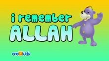 Nasheed - I Remember ALLAH (Islamic Cartoon with Zaky)