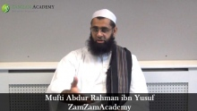 Putting Money in a Man's Shoe by Mufti Abdur Rahman ibn Yusuf