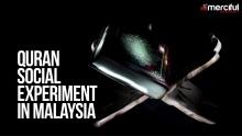 Quran Social Experiment In Malaysia #LetTheQuranSpeak