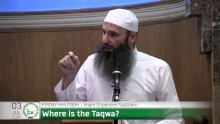 Where is the Taqwa - Imam Shpendim Nadzaku
