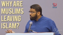 Why are Muslims leaving Islam? ~ Dr. Yasir Qadhi | 29th August 2014