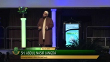 Achieving Balance in Faith, Work and Family - Sh.  Abdul Nasir Jangda