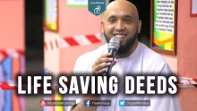 Life Saving Deeds - Tariq Appleby